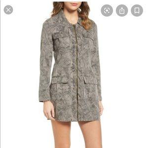 Pam & Gela mini zip front dress